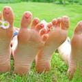 relaxation par les pieds